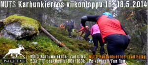 NUTS Karhunkierros Trail Relay